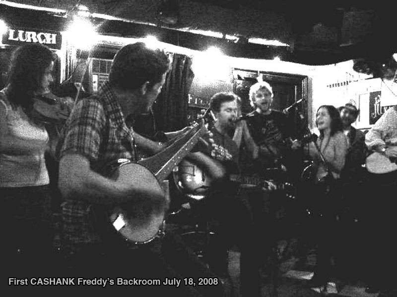 CasHank Hootenanny Jamboree, Thursday, November 3, 2016 at Freddy's Bar